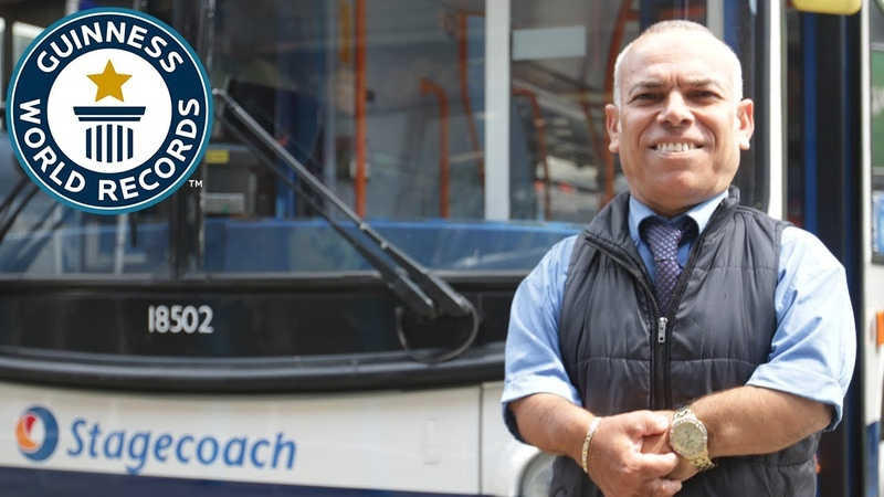 Frank Hachem: World's Shortest Bus Driver - Meet The Record Breakers