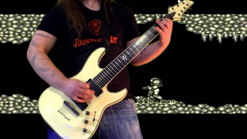 Super Metroid - Main Theme on guitar