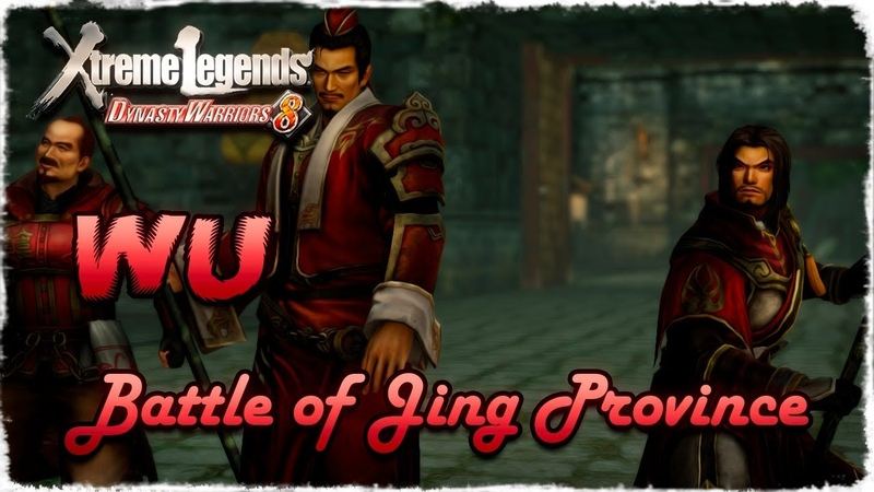 Story Mode ◄ Dynasty Warriors 8 ► Wu 20 Battle of Jing Province