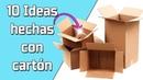 10 Ideas Hechas con Cartón Reciclaje Ecobrisa