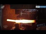 Оружейный Мастер - Настоящий меч Оркрист из Хоббита - Man At Arms_ Reforged на русском!