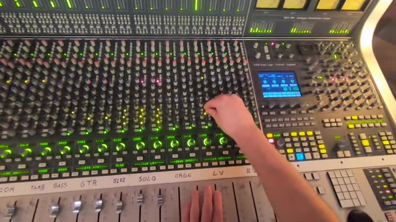 """Analog Mixing (SSL Console) GoPro POV - _""""Get Out Of Bed_"""" by Magicians Nephew"""