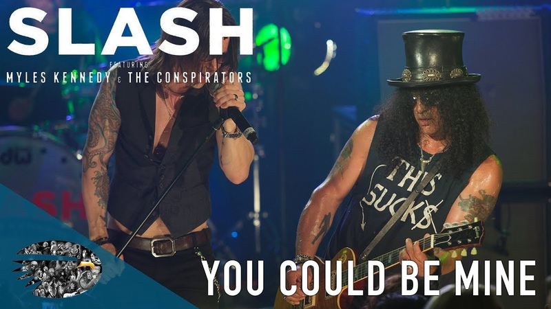 Slash ft. Myles Kennedy The Conspirators - You Could Be Mine (Live At The Roxy)