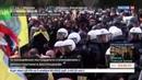 Новости на Россия 24 Митинг курдов в Дюссельдорфе обернулся беспорядками