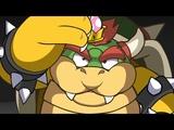 Mario Shots Bowsette's Transformation.