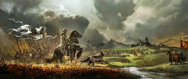 Тот, кто достоин победы - Ваше Величество, враг на подходе, - доложил рыцарь, въехав в тронный зал прямиком на коне. Во время войны такое поведение считалось допустимым, и сейчас прославленного