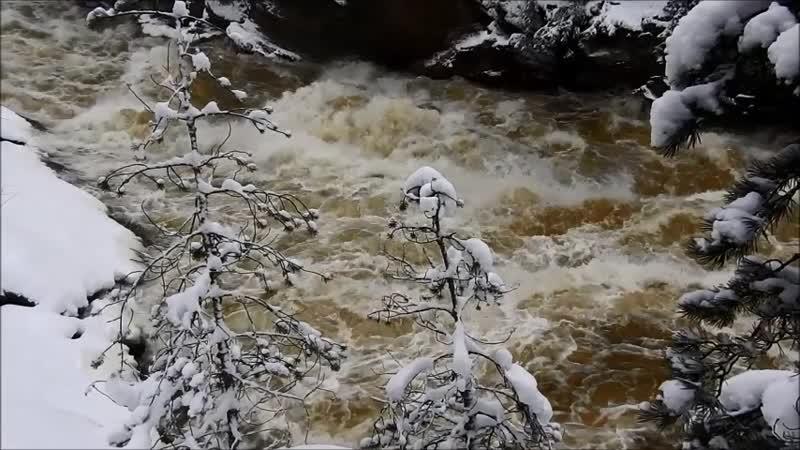 Водопад в Иматре, 01.01.2019