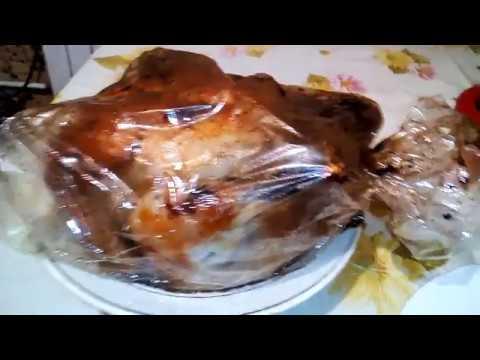 Курица гриль в микроволновке - простой и вкусный рецепт.Grilled chicken