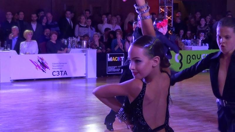 Mikriukov Artur - Kornilova Alexandra Cha-Cha / Crystal Ball 2019 Junior 1 Latin