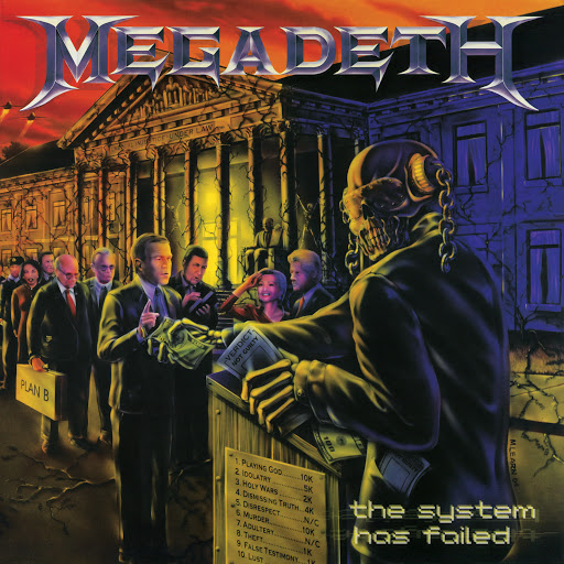 Megadeth альбом The System Has Failed (2019 - Remaster)