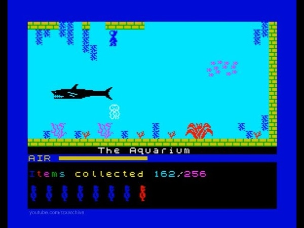 What Willy Did Next Walkthrough, ZX Spectrum