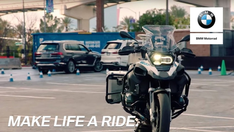 BMW Motorrad Riding Assistant at CES