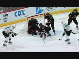 Lukas Radil Roofs Backhander For First NHL Goal And Sharks Game-Winner
