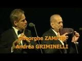 Gheorghe Zamfir &amp Andrea Griminelli in Andrea Bocelli World Tour - Live