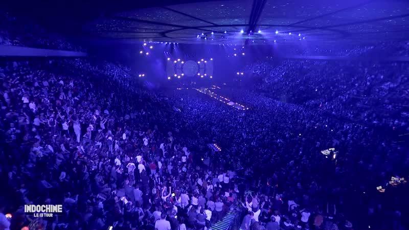 Indochine - Jai demandé à la lune, AccorHotels Arena,Paris,16 nov 2018