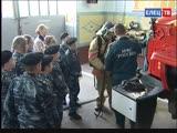 В рамках программы «Профориентир», кадеты школы №1 им. М.М. Пришвина познакомились с профессией пожарного