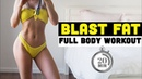 Chloe Ting Full Body Blast Fat Workout Супер интенсивная кардио тренировка