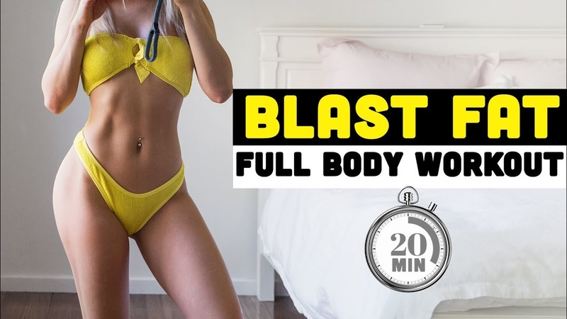Chloe Ting - Full Body Blast Fat Workout | Супер-интенсивная кардио-тренировка