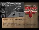Return to Castle Wolfenstein (PC) - Wolfenstein 3D - E1M1 custom map - Gameplay Download