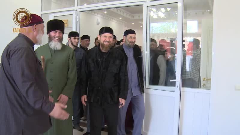 Открыли новое здание медресе имени шейха Ташу-Хаджи Аль-Индарий