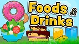 Foods and drinks in English