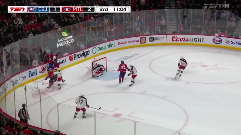 Canadiens top Blue Jackets on Tatars goal