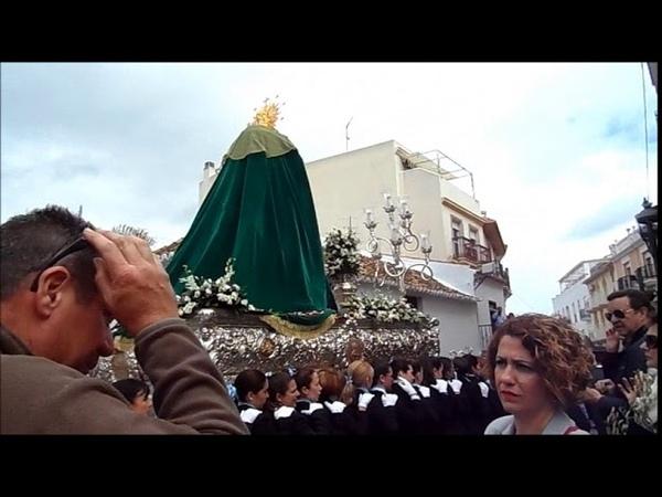 Domingo de Ramos 2018 Maria Santisima dela Esperanza Pollinica ALHAURIN de la TORRE 25 03