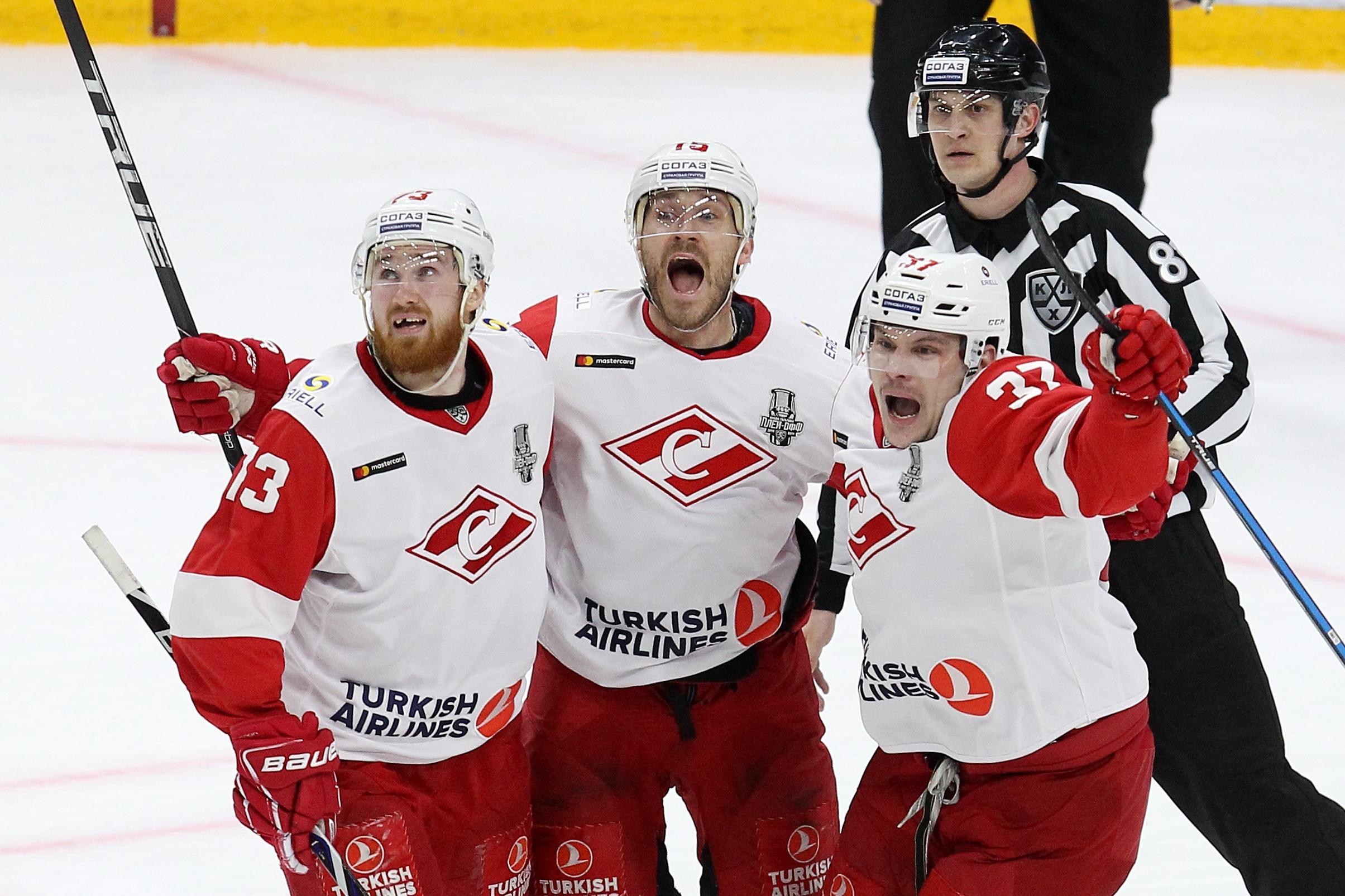 «Спартак» может выбить СКА из плей-офф КХЛ. Что это за команда