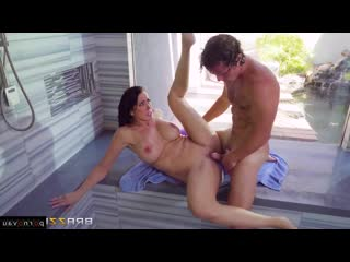 Reagan foxx & robby echo [ big boobs &  mothers / deep blowjob , shaved , riding dick , cumshot in mouth , boobs , milkings]