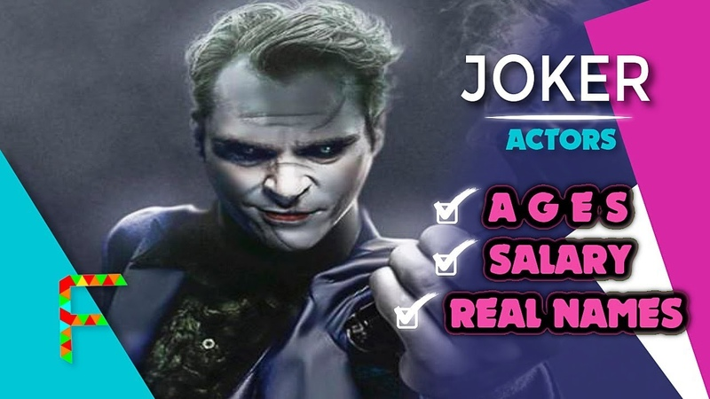 Joker (2019) Actors Real Names \ Ages \ Salary