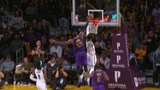 LeBron James Chase Down Block on D'Angelo Russell Nets vs Lakers - March 22, 2019