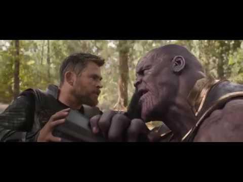 Мстители: Война Бесконечности | Танос собирает перчатку и щелкает пальцами. Смерть Мстителей