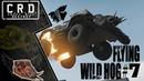 Crossout: [ Tusk Harvester ] FLYING WILD HOG 7 [ver. 0.9.70]