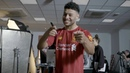 Ox's Vlog Behind the scenes at the 2019 20 Liverpool new kit shoot with Alex Oxlade Chamberlain