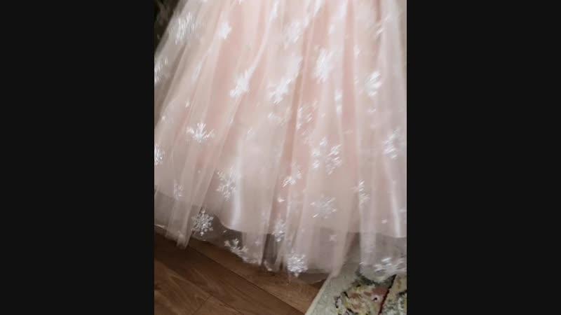 Платье бальное😍😍