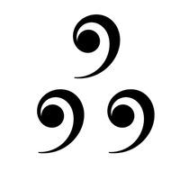Логотип Три запятые / стихи и поэты