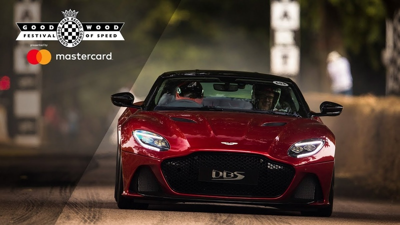 715bhp Aston Martin DBS Superleggera makes world debut at FOS