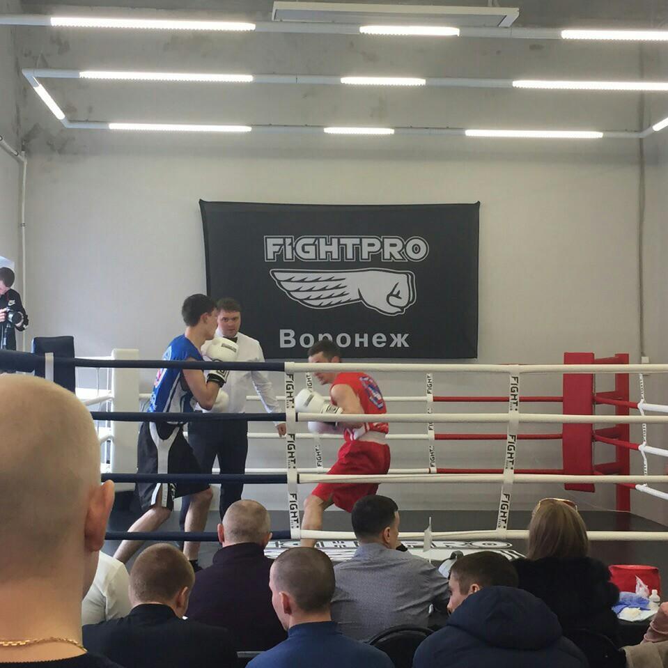 Участие в Лиге бокса г.Воронеж