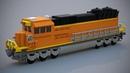 LEGO BNSF Freight Locomotive MOC