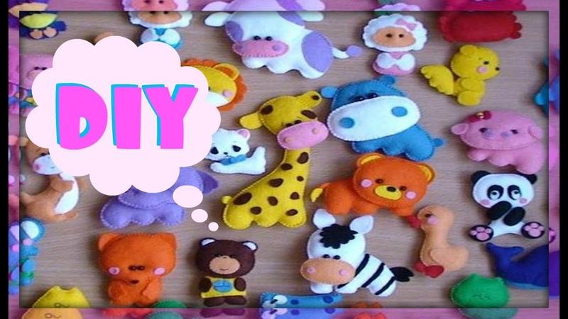Игрушки из Фетра Конкурс♥ DIY♥ DanaTinker
