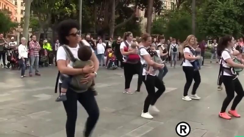 Мамы с младенцами танцуют под Despacito
