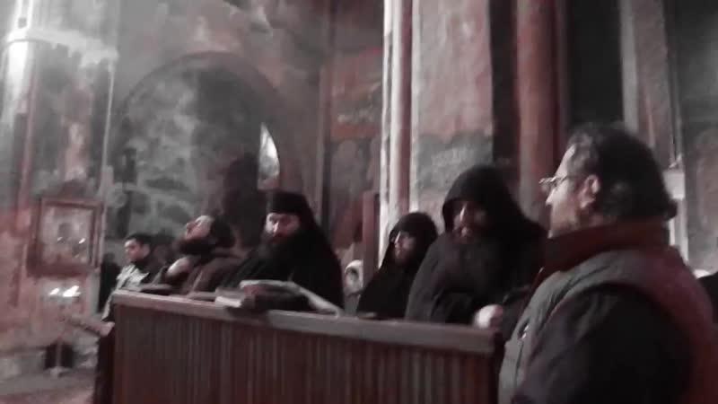 ზარზმელი ბერების გალობა - მიცვალებულთა კვერექსი Zarzmeli Berebis Galoba Поют монахи - ЗАРЗМА.mp4