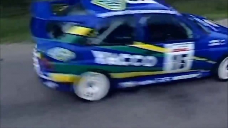 Ford Escort RS Cosworth - WRC Tour de Corse 1993 (with pure engine sounds)