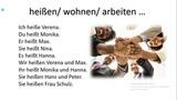 Самоучитель немецкого языка. Das bin ich! Урок 5