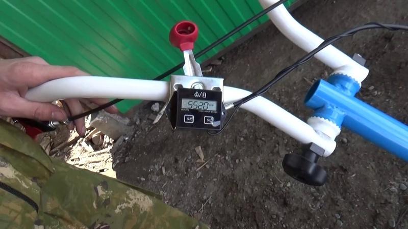 Установка счетчика моточасов на мотоблок НЕВА МБ-2