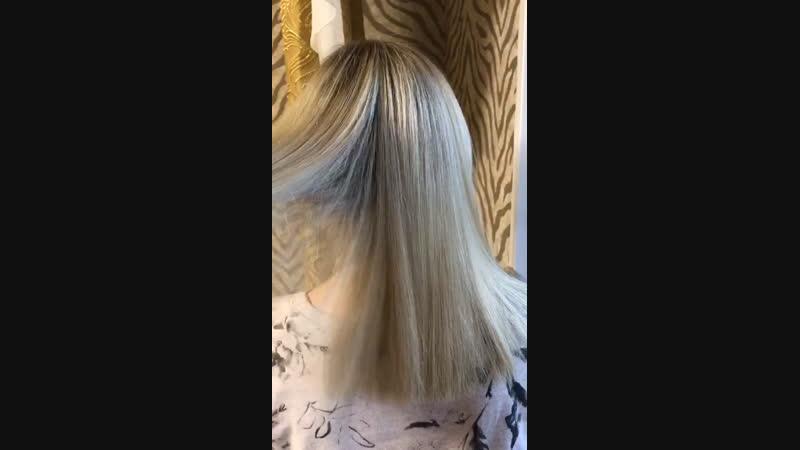 Окрашивание волос 💆🏼♀️💁🏼♀️ биотиновый уход 🙌🏻. Предварительная запись 📝 по телефону 📲 89139787818 🦋