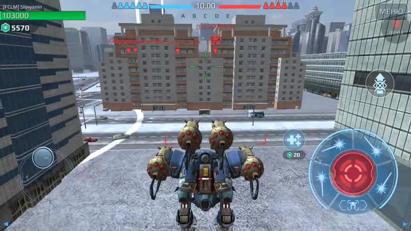 "WarRobots Slovyanin ""Game one Bot """