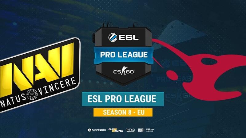 Na`Vi vs mousesports - ESL Pro League S8 EU - bo1 - de_dust2 [CrystalMay, Anishared]