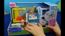 Peppa Pig en español. Centro médico móvil de Peppa Pig. Nuevos juguetes del hospital Peppa Pig
