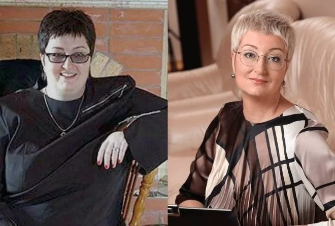 Татьяна Устинова похудела на 100 килограммов.  В прошлом